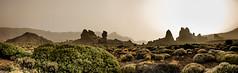 Desert mood (amiglia) Tags: dust light desert panorama