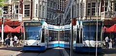 Spiegeltje,liq (Peter ( phonepics only) Eijkman) Tags: amsterdam city combino gvb tram transport trams tramtracks rail rails strassenbahn streetcars nederland netherlands nederlandse noordholland holland