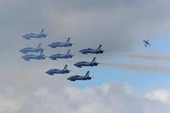 DSC_5554 (sauliusjulius) Tags: nato days ostrava 2016 czech air force september 17  18 leos janacek airport osr lkmt frecce tricolori 313 gruppo addestramento acrobatico aermacchi mb339
