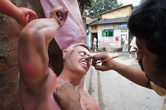 kolkata 5 - 34 (Rajesh_India) Tags: india west religious god kali religion goddess idol ritual indians utsav kolkata bengal calcutta durga 2012 durgapuja godess bengali ghat westbengal bangali kumartuli kumartoli kumortuli