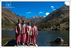 Monpa Girlz @ Tsangetsar Lake (Arif Siddiqui) Tags: travel india beauty asia lakes places hills tribes northeast arif arunachal tawang siddiqui arunachalpradesh monpa