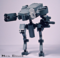 Mantis (Nick Brick) Tags: mantis lego infinity 4 halo marines mech unsc nickbrick