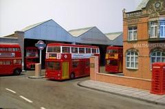 Walthamstow bus garage (kingsway john) Tags: walthamstow bus garage model 176 scale efe card kingsway models londontransportmodel diorama oo gauge miniature