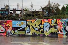 graffiti (wojofoto) Tags: streetart holland amsterdam graffiti zombie nederland netherland ndsm noord wolfgangjosten wojofoto