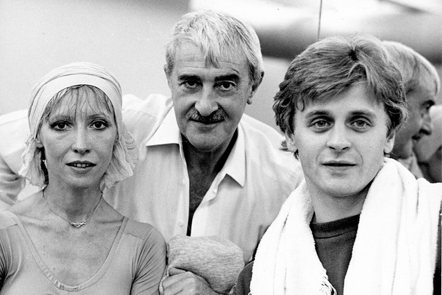 Natalia Makarova, Kenneth MacMillan and Mikhail Baryshnikov in rehearsals, 1981 © 1981 Roy Round