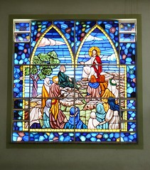 Paróquia Divino Espírito Santo (JC Sabir) Tags: church glass chapel stainedglass igreja sanctuary vitral vitraux capela santuário