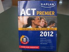 New Arrivals October 2012:  Kaplan ACT Premier...
