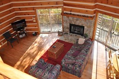 Dream Catcher - Charming Log Cabin Convenient to Area Activities (Great Smokys Cabin Rentals) Tags: mountain hot nc view tub secluded greatsmokymountains brysoncity cabinrental