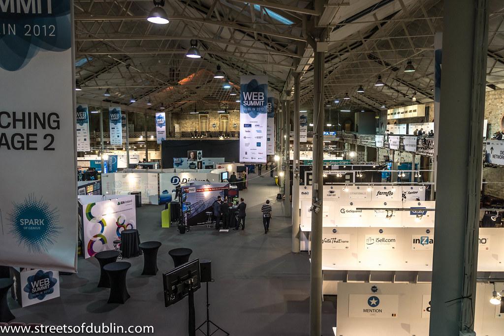 Web Summit Dublin 2012 - Before The Event Proper