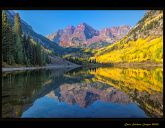 Maroon Bells - Fall 2012 (JusDaFax) Tags: reflection fall beautiful dave bells interesting colorado maroon images aspen 2012 soldano mygearandme mygearandmepremium mygearandmebronze mygearandmesilver mygearandmegold mygearandmeplatinum mygearandmediamond