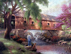 "The ""Old Fishin' Hole"" (Puzzler4879) Tags: art puzzles pointshoot puzzling coveredbridges canonpowershot thomaskinkade boyanddog jigsaws canondigital canonaseries 590 canonphotography wonderfulphotos jigsawpuzzles canonpointshoot flickraward flickrbronzeaward a590is canona590is canonpowershota590is powershota590 powershota590is 590is artisticpuzzles handselectedphotographs mygearandme fishingscenes jigsawpuzzling level1photographyforrecreation level3photographyforrecreation level4photographyforrecreation level2photographyforrecreation streamscenes magicmomentsinyourlifelevel1 niceasitgets~level1 niceasitgets~level2 redlevelno1 niceasitgets~level3 niceasitgets~level4 niceasitgets~level5 niceasitgets~level7 niceasitgets~level8 niceasitgets~level6 oldfishinhole kinkadeart"