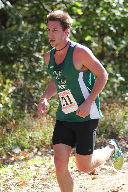Graduate student Mike O'Brian earned All-Region honors with a 22nd place finish in 31:16.5 at regionals