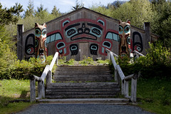 Totem Bight State Park, Alaska (linablair) Tags: park alaska forest state totem lodge pole national ketchikan saxman bight tongass