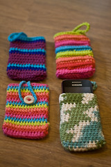 IMG_1381 (Janelle *CharisPhotography*) Tags: phone handmade crochet case dishcloth etsy coaster washcloth ereadercase