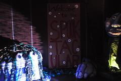 Boo! An Underwater Halloween Spooktacular 2012 (Queens Museum) Tags: newyorkcity family art halloween museum children underwater families queens puppets benefit caribbean queensmuseumofart specialevent queensmuseum spooktacular jennyromaine greatsmallworks caribbeancrossroads