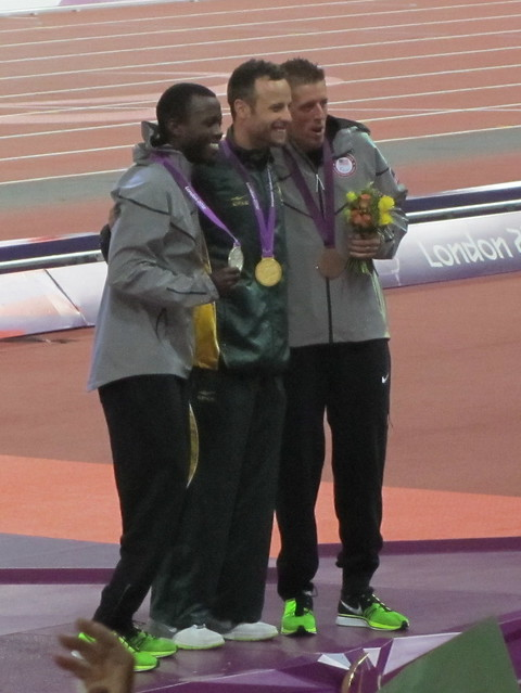 Men's 400m T44 Victory Ceremony