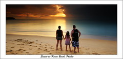 Family shot (EmeraldImaging) Tags: sunset thailand phuket karonbeach