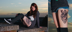 Spadge & The Deer (JamieTakes.Photos) Tags: girl tattoo deer lincoln spadge