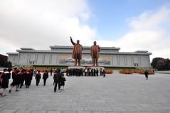 DSC_0938 (yackshack) Tags: travel nikon asia asien north korea explore pyongyang corea dprk coreadelnorte kimilsung nordkorea jongil d5000 coredunord coreadelnord   pjngjang mansudaegrandmonument dvrk