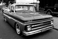 Chevrolet Pick Up Truck (@FTW FoToWillem) Tags: cruise chevrolet car blackwhite classiccar custom carshow customcar customculture kustom ftw customtruck kustomculture kustomtruck be6901 americanstaronwheels