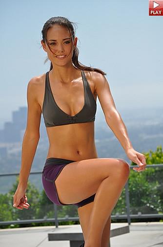 Babe erotic fitness nude simpsons black