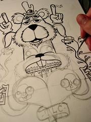 A sneak peek of a new design I'm working on (TLC<3) Tags: streetart art painting portland graffiti sticker mural paint stickers lostcause gimme moses spraypaint aerosol winston aerosolart tlc thelostcause winstonthewhale