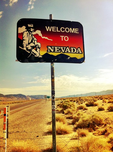 "Welcome To Nevada Sign • <a style=""font-size:0.8em;"" href=""http://www.flickr.com/photos/20810644@N05/8142884172/"" target=""_blank"">View on Flickr</a>"