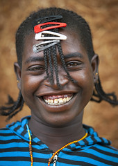 Bana Tribe Girl, Key Afer, Omo Valley, Ethiopia (Eric Lafforgue) Tags: africa portrait people woman haircut color girl smile fashion vertical youth hair outside photography colorful day outdoor young culture slide jewelry tribal clip ornament adobe friendly omovalley tradition ethiopia tribe pastoral ethnic hairstyle 001 bana hamar bodymodification oneperson jewel hamer barrette onepeople confidence welcoming hornofafrica ethnology omo banna eastafrica toothysmile onepersononly realpeople colorimage lookingatcamera beautify oneyoungwomanonly benna waistup oneteenagegirlonly keyafer africanethnicity pastoralist pastoralism onegirlonly snnpr eth0001 bodytransformation oneadult southernnationsnationalitiesandpeoplesregion hamerbenaworeda ethiopianethnicity oneteenager hamerbena hammerbena