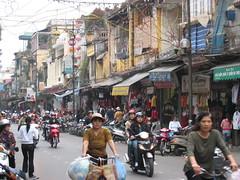 Street in Hanoi, Vietnam (mbphillips) Tags: hanoi fareast southeastasia vietnam    asia     mbphillips canonixus400