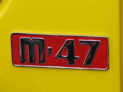 Mercury Logo (bballchico) Tags: logo 1950 mercury m47 pickup truck 206 washingtonstate