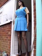 gymslip girl 027 (gymslip-connoiseur) Tags: mannequin doll gymslips flickrhivemind gymslipgirls gymslipgirl