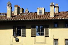 Palazzo Pitti chimneys, Florence (Ornedra (Ornella D.)) Tags: windows italy tetti roofs firenze chimneys comignoli finestre florenze palazzopitti