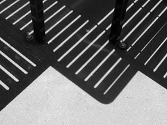 Shadows (shaire productions) Tags: shadow urban abstract geometric lines silhouette photo chair pattern floor image decay picture shapes ground pic structure photograph curve shape element imagery