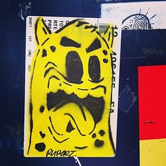 RUPERT (billy craven) Tags: streetart chicago stencil sticker rupert slaptag uploaded:by=instagram