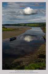 Cloud (a bit of a rework) (steve pickford) Tags: park summer sky cloud reflection water ferry clouds reflections river landscape coast scotland boat canal ross highlands riverbank blackisle thenorth dingwall cromartyfirth rossshire easterross theferry ferryroad k10d steg2 eos5d2 5dii peffery riverpeffery cloudsskylandscape pefferey jubileeparkandferryroad highlandsteg stevepickford