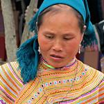 Flower Hmong portrait. thumbnail