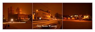 Oslo,Winter Evening