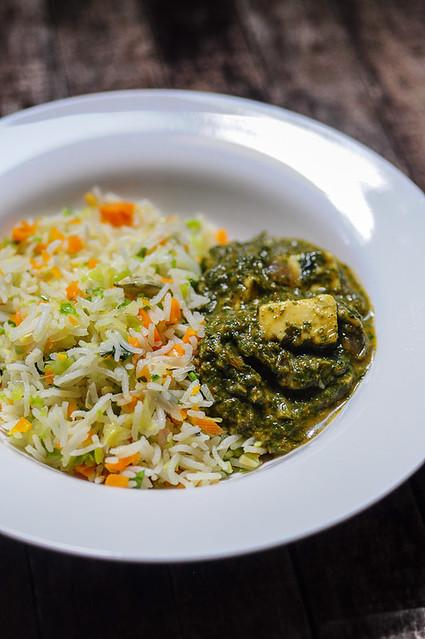 Palak Paneer-Spinach Paneer Recipe