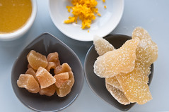 Uncrystallized and Crystallized ginger (.Manisha.) Tags: ginger crystallizedginger 9158 uncrystallizedginger