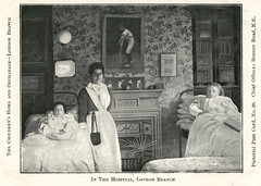 'In the Hospital', Children's Home and Orphange, London Branch (robmcrorie) Tags: road green london history home hospital children for action orphanage patient medical health national doctor nhs bethnal childrens service british nurse bonner healthcare development