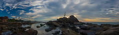 Panorama | The Bonsai Tree (Sazali Suzin) Tags: sea panorama beach nikon asia malaysia borneo nikkor pantai alam labuan