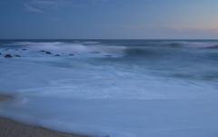 Portugal Povoa do Varzim (m_motylka) Tags: playa beach sea mar portugal povoa do varzim plaża morze ocean oceano atlantico sunset anochecer