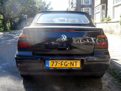 Volkswagen Golf 4 cabrio 2000 (a.k.a. Ardy) Tags: 77fgnt softtop 77fgnt01