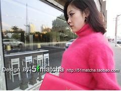 5matcha_47 (Homair) Tags: angora fuzzy fluffy sweater tneck