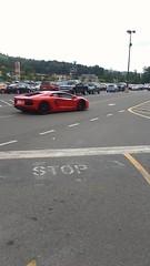 Lamborghini Aventador (Fuji086) Tags: lamborghini lowes lamborghiniaventador orange parkinglot