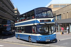 DELAINE 150 AD61DBL PETERBOROUGH 260816 (David Beardmore) Tags: ad61dbl volvo b9tl wright delainebuses delaineofbourne