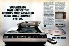 1981 Magnavox Magnavision LaserDisc ad (Tom Simpson) Tags: 1981 magnavox magnavision laserdisc ad 1980s electronics homevideo entertainment video vintage ads advertising advertisement vintagead vintageads