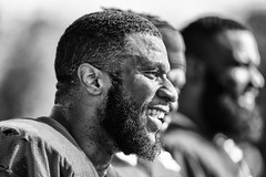 2016 Faces of Training Camp-180 (Mather-Photo) Tags: 2016 andrewmather andrewmatherphotography blackandwhite chiefs chiefskingdom chiefstrainingcamp closeup colorless faces football helmetoff kcchiefs kansascitychiefs matherphoto monochrome nfl sportsphotography summer team trainingcamp
