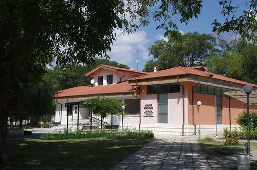 Pliska : le musée