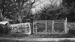 ACCESS DENIED...AGAIN ! (Jeton Bajrami) Tags: accessdenied noiretblanc blackwhite barrier treatment perfect art 2016 sony alpha alpha77mkii mk2 a77ii switzerland valais wallis vetroz